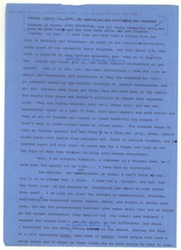 Letter from Katherine Anne Porter to Glenway Wescott, April 24, 1966