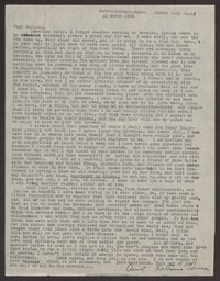 Letter from Katherine Anne Porter to Paul Porter Jr., March 20, 1945