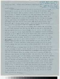 Letter from Katherine Anne Porter to Gay Porter Holloway, November 30, 1955