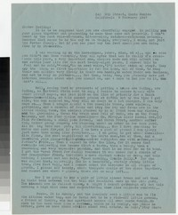 Letter from Katherine Anne Porter to Gay Porter Holloway, February 09, 1947