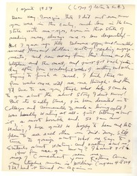 Letter from Katherine Anne Porter to Kay Boyle, April 01, 1957