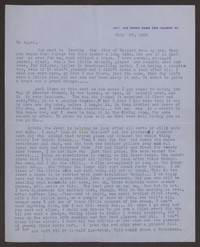 Letter from Katherine Anne Porter to Eugene Pressly, July 25, 1935