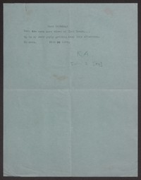 Letter from Katherine Anne Porter to Albert Erskine, February 02, 1938