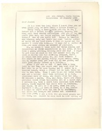 Letter from Katherine Anne Porter to Josephine Herbst, January 13, 1946