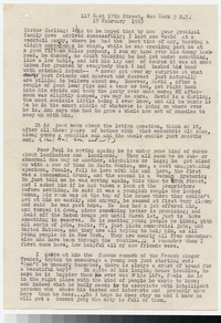 Letter from Katherine Anne Porter to Gay Porter Holloway, February 17, 1953