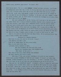 Letter from Katherine Anne Porter to Cora Posey, August 18, 1957
