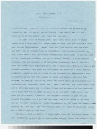 Letter from Katherine Anne Porter to Gay Porter Holloway, March 29, 1967