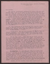 Letter from Katherine Anne Porter to Paul Porter Jr., August 02, 1949