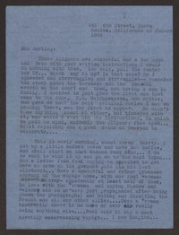 Letter from Katherine Anne Porter to Ann Holloway Heintze, January 22, 1946