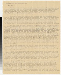 Letter from Katherine Anne Porter to Gay Porter Holloway, August 18, 1932