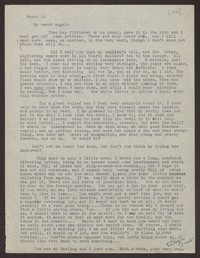 Letter from Katherine Anne Porter to Eugene Pressly, March 13, 1936