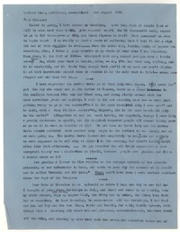 Letter from Katherine Anne Porter to Eleanor Clark Warren, August 02, 1956