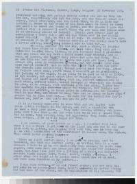 Letter from Katherine Anne Porter to Gay Porter Holloway, November 22, 1954