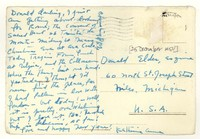 Letter from Katherine Anne Porter to Donald Elder, December 25, 1954