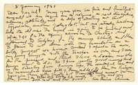 Letter from Katherine Anne Porter to Isabel Bayley, January 05, 1951