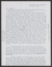Letter from Katherine Anne Porter to Albert Erskine, November 04, 1940