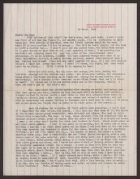 Letter from Katherine Anne Porter to Gay Porter Holloway, March 22, 1948
