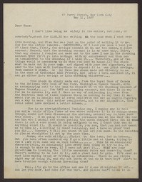 Letter from Katherine Anne Porter to Eugene Pressly, May 11, 1937