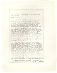 Letter from Katherine Anne Porter to George Platt Lynes, May 19, 1943