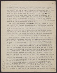 Letter from Katherine Anne Porter to Eugene Pressly, January 12, 1932
