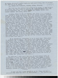 Letter from Katherine Anne Porter to Gay Porter Holloway, October 29, 1954
