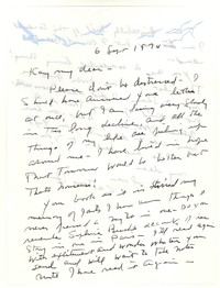 Letter from Katherine Anne Porter to Kay Boyle, September 06, 1974