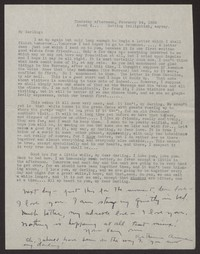 Letter from Katherine Anne Porter to Albert Erskine, February 24, 1938