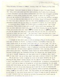 Letter from Katherine Anne Porter to Tinkum Brooks, July 15, 1963