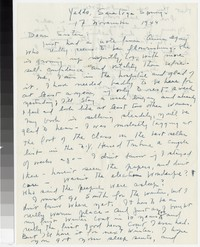 Letter from Katherine Anne Porter to Gay Porter Holloway, November 17, 1944