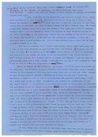 Letter from Katherine Anne Porter to Glenway Wescott, January 15, 1963