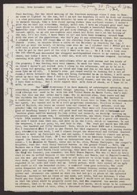 Letter from Katherine Anne Porter to Paul Porter Jr., November 30, 1962