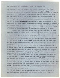 Letter from Katherine Anne Porter to Caroline Gordon, September 30, 1964
