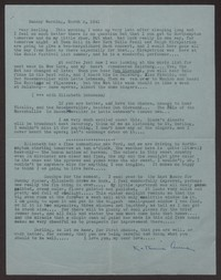 Letter from Katherine Anne Porter to Albert Erskine, March 02, 1941
