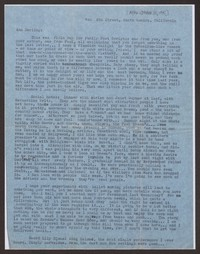 Letter from Katherine Anne Porter to Ann Holloway Heintze, after October 31, 1945