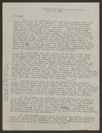 Letter from Katherine Anne Porter to Eugene Pressly, March 17, 1936