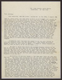 Letter from Katherine Anne Porter to Paul Porter Jr., May 23, 1945