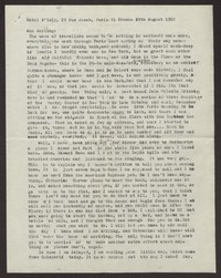 Letter from Katherine Anne Porter to Ann Holloway Heintze, August 29, 1952