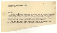 Letter from Katherine Anne Porter to Kay Boyle, April 14, 1933