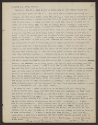 Letter from Katherine Anne Porter to Eugene Pressly, January 19, 1932