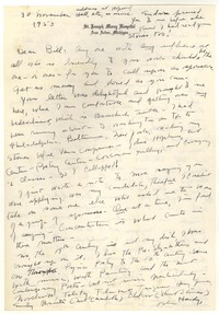 Letter from Katherine Anne Porter to William Humphrey, November 30, 1953