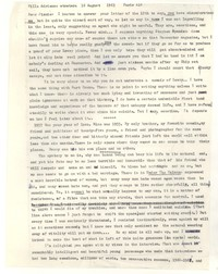 Letter from Katherine Anne Porter to James Stern, August 16, 1963