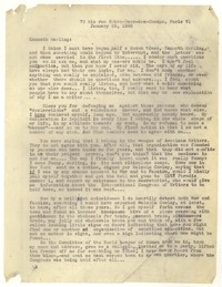 Letter from Katherine Anne Porter to Kenneth Durant, January 25, 1936