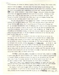 Letter from Katherine Anne Porter to James Stern and Tania Stern, October 10, 1963