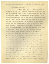 Letter from Katherine Anne Porter to William Goyen, June 07, 1951