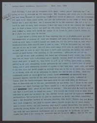 Letter from Katherine Anne Porter to Paul Porter Jr., June 30, 1956