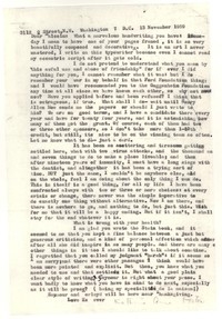 Letter from Katherine Anne Porter to John Malcolm Brinnin, November 13, 1959