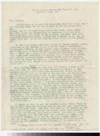 Letter from Katherine Anne Porter to Gay Porter Holloway, February 29, 1952