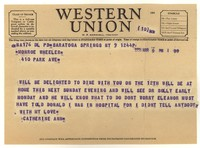 Letter from Katherine Anne Porter to Monroe Wheeler, March 09, 1951