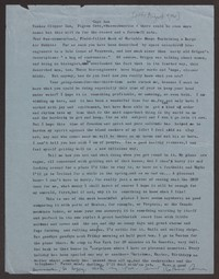 Letter from Katherine Anne Porter to Paul Porter Jr., after August 09, 1961