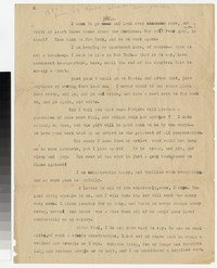 Letter from Katherine Anne Porter to Gay Porter Holloway and Harrison B. Porter, circa 1920